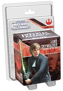 Star Wars Imperial Assault - Luke Skywalker Jedi Ally Pack