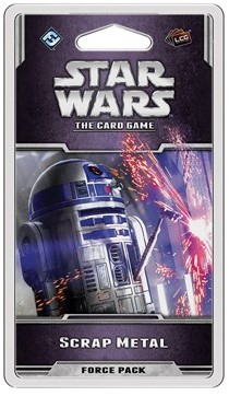 Star Wars The Card Game - Scrap Metal Force Pack