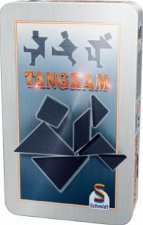 Tangram in tin box pocketeditie