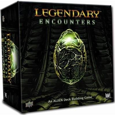 Legendary Encounters - Alien Deck Building Game