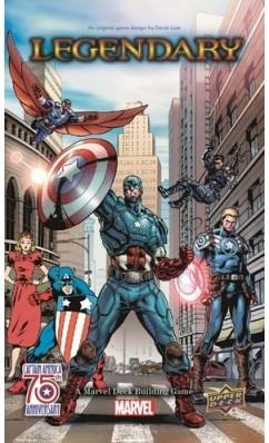 Marvel Legendary - Captain America 75th Anniversary