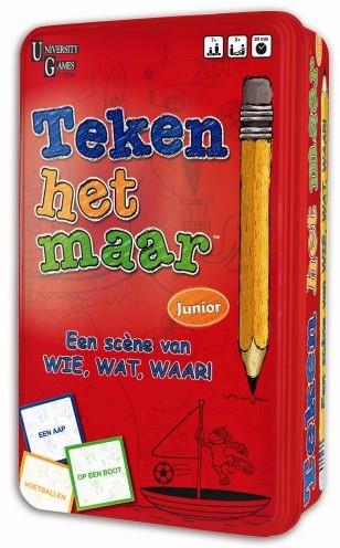 Teken het Maar! Reisversie (Tin box)