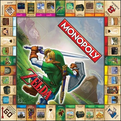 Monopoly - The Legend of Zelda (Engels)-3