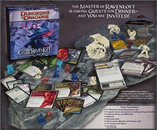 Dungeons & Dragons Castle Ravenloft Bordspel-2