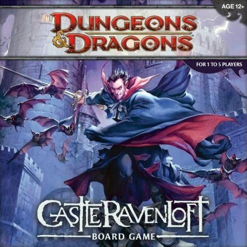Dungeons & Dragons Castle Ravenloft Bordspel-1