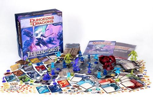 Legend of Drizzt Boardgame-2