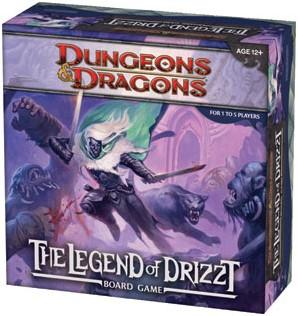 Legend of Drizzt Boardgame-3