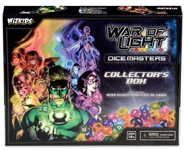 DC Comics Dice Masters - War of Light Collectors Box