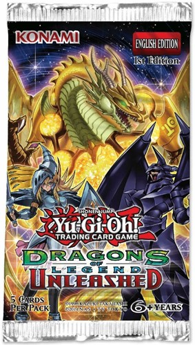 Yu-Gi-Oh! Dragons of Legend Unleashed Boosterpack