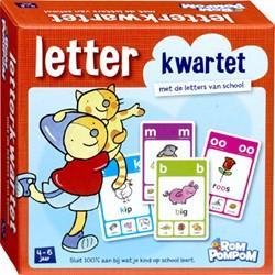 Rompompom Letterkwartet