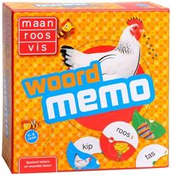Maan Roos Vis - Woordmemo