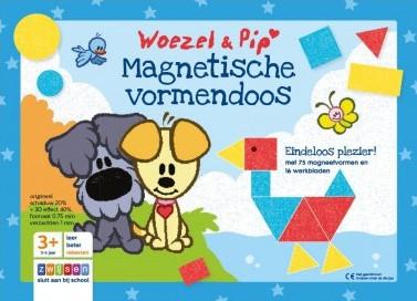 Woezel & Pip - Magnetische Vormendoos