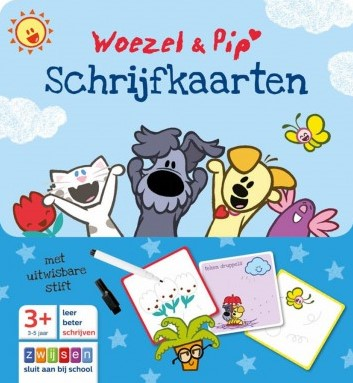Woezel & Pip - Schrijfkaarten