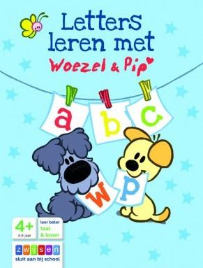 Letters Leren met Woezel & Pip (Vouw in boekje)