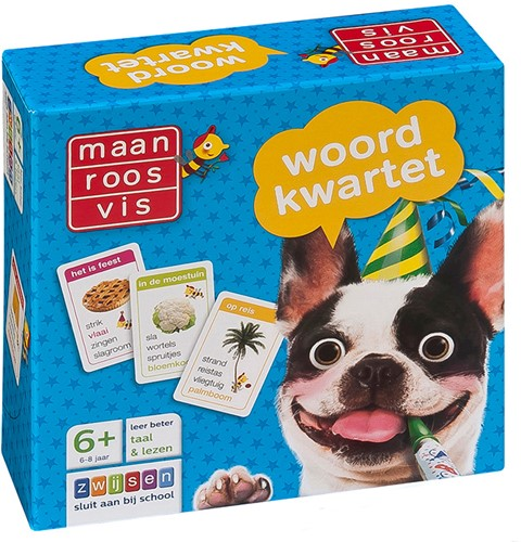 Maan Roos Vis - Woordkwartet