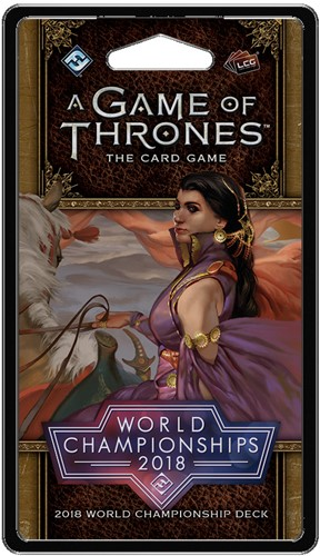 Game of Thrones - World Champions Deck 2018