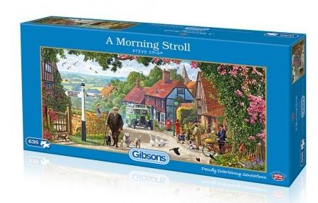A Morning Stroll - Steve Crisp Puzzel (636 stukjes)-1