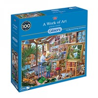 A Work of Art - Steve Crisp Puzzel (1000 stukjes)
