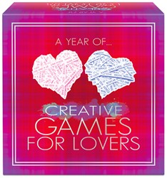A Year Of Creative Games For Lovers