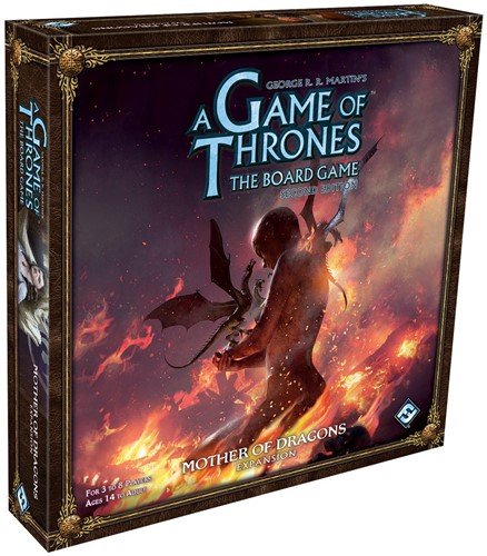 Game of Thrones Boardgame Exp. Mother of Dragons