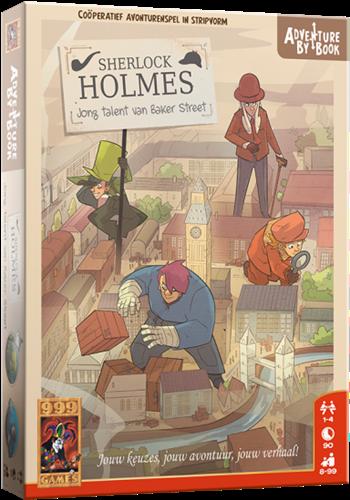 Adventure by Book - Sherlock Jong Talent van Baker Street