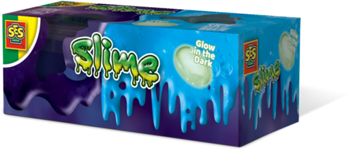 SES - Slime Moonstone Glow in the Dark (2x120gr)