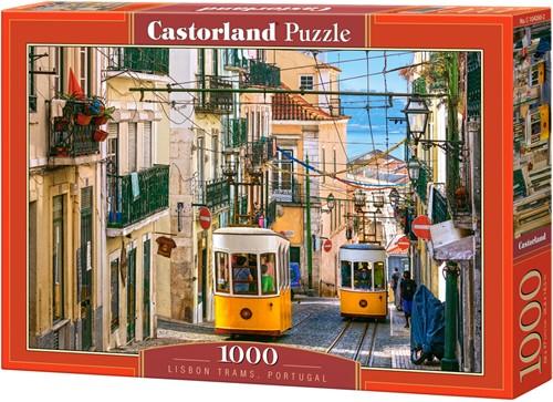 Lisbon Trams, Portugal Puzzel (1000 stukjes)
