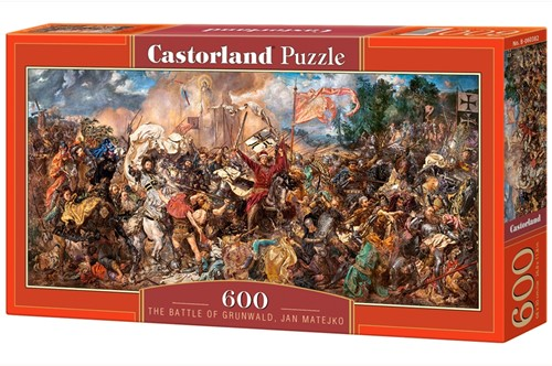 The Battle of Grunwald, Jan Matejko Puzzel (600 stukjes)