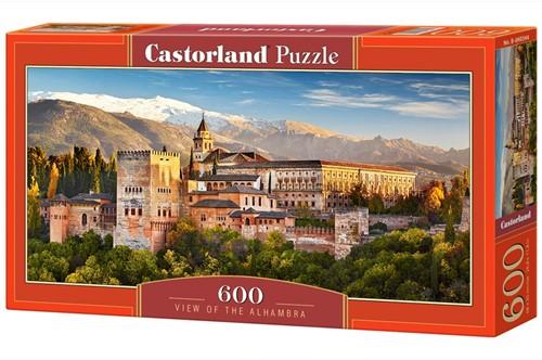 View of the Alhambra Puzzel (600 stukjes)