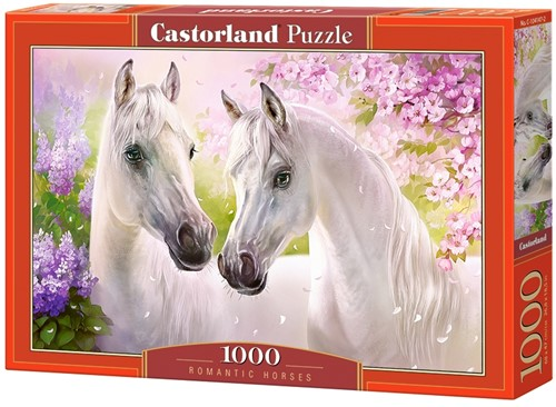 Romantic Horses Puzzel (1000 stukjes)