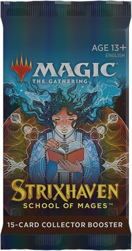 Magic The Gathering - Strixhaven School of Mages Collector Boosterpack