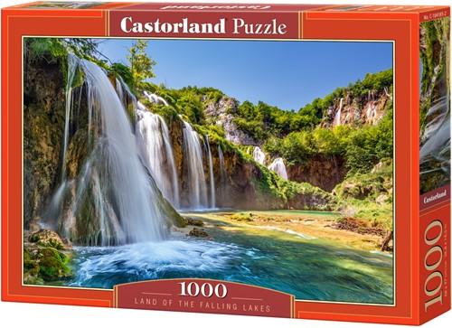 Land of the Falling Lakes Puzzel (1000 stukjes)