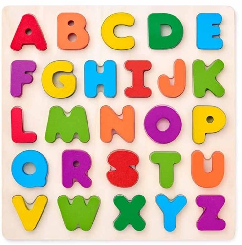 Woody Puzzel Alfabet