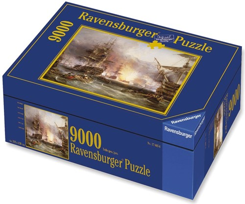 Bombardement van Algiers Puzzel (9000 stukjes)-1