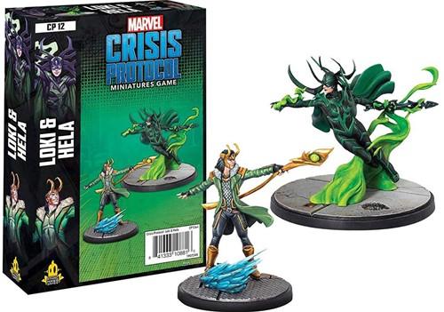 Marvel Crisis Protocol - Loki and Hela Character
