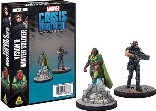 Marvel Crisis Protocol - Vision and Winter Soldier