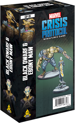 Marvel Crisis Protocol - Black Dwarf and Ebony Maw