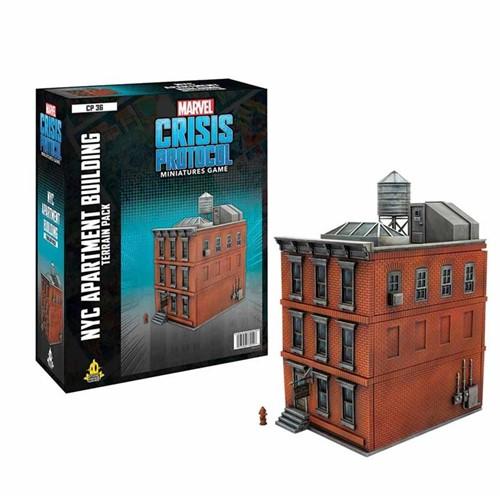 Marvel Crisis Protocol - Apartment Building Terrain Expansion