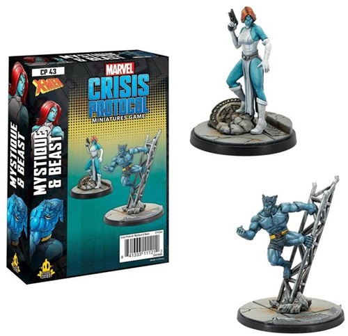 Marvel Crisis Protocol - Beast and Mystique