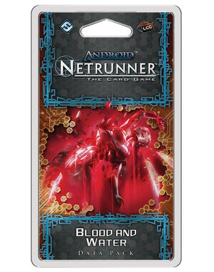 Android Netrunner - Blood and Water Data Pack