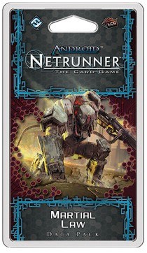 Android Netrunner - Martial Law Data Pack