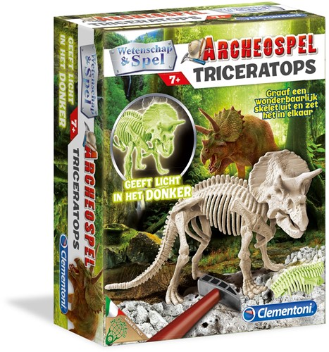 Wetenschap & Spel - Archeospel Triceratops