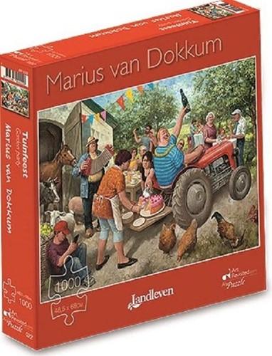 Marius van Dokkum - Tuinfeest Puzzel (1000 stukjes)