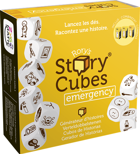 Rory's Story Cubes - Emergency