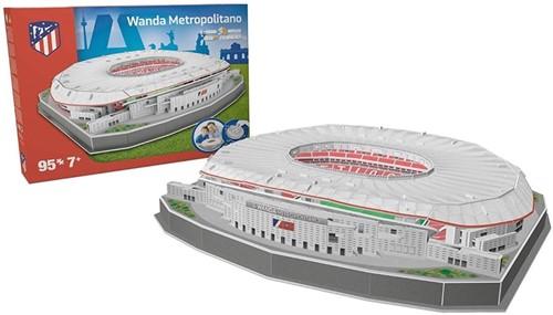 Atletico Madrid - Wanda Metropolitano 3D Puzzel (95 stukjes)-2