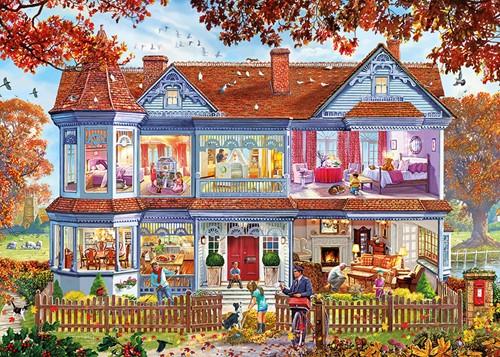 Autumn Home XL Puzzel (500 stukjes)