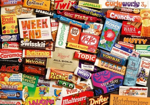 1970s Sweet Memories Gift Tin Puzzel (500 stukjes)-2