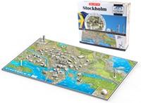 4D Cityscape - Stockholm Puzzel (1245 stukjes)-2