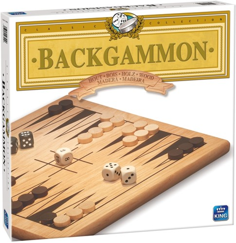 Houten Backgammon