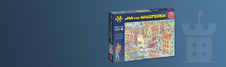 Jan van Haasteren - Het Ontbrekende Stukje Puzzel (1000 stukjes)